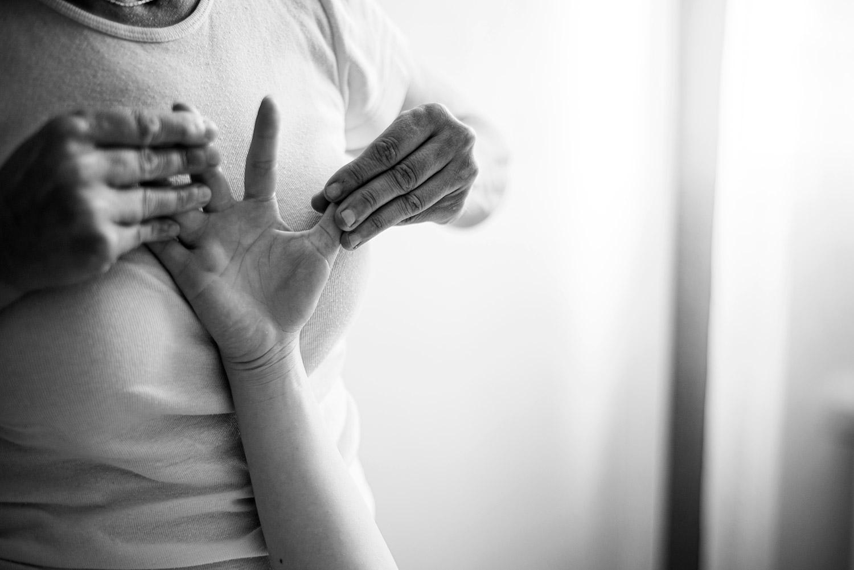 Massage doigts